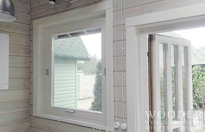 Деревянные окна Wooder